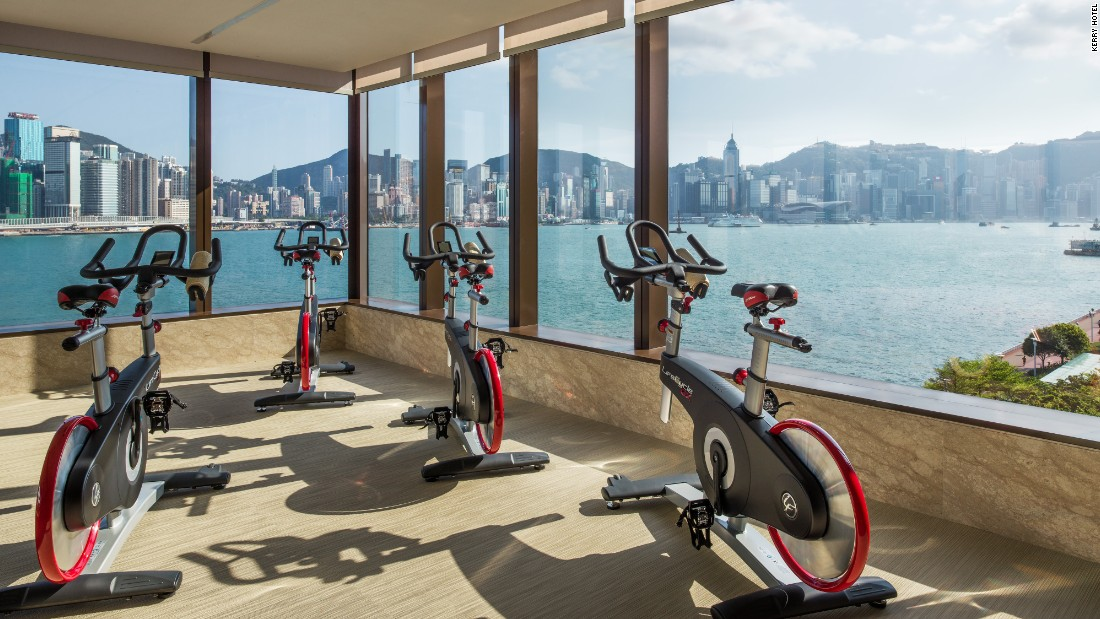 Workouts and wows: The world's most amazing hotel gyms