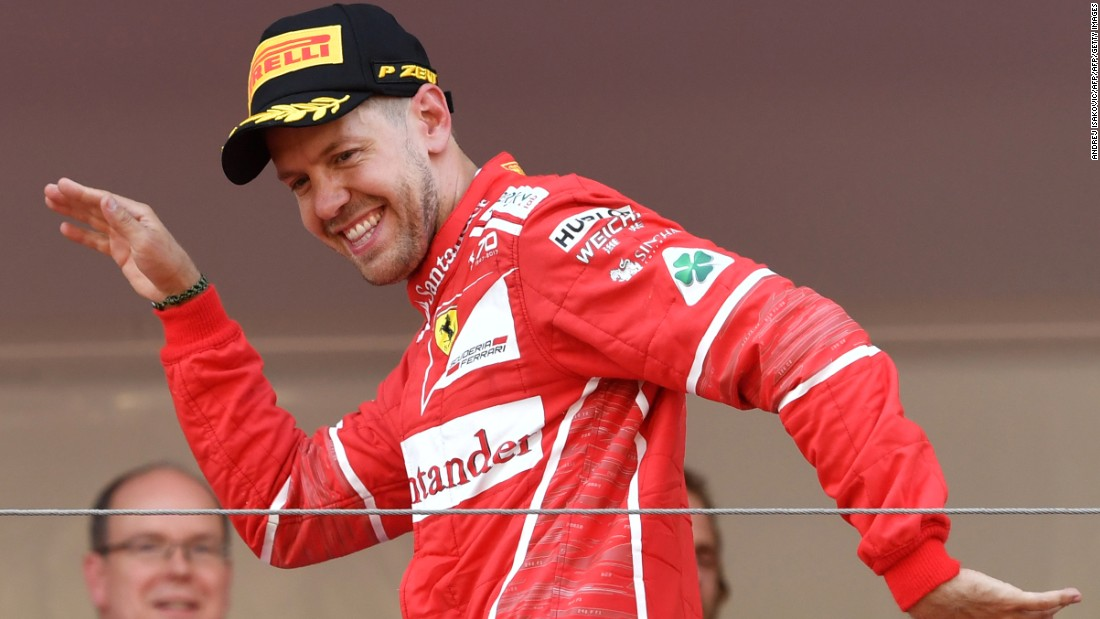 Monaco GP: Sebastian Vettel wins 'intense' race
