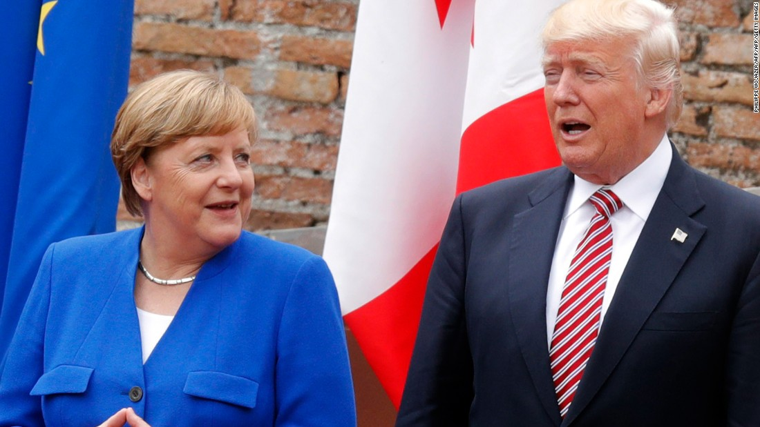 Merkel: Europe can't rely on US