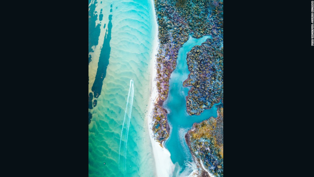 Aerial photos highlight Australia's stunning landscapes