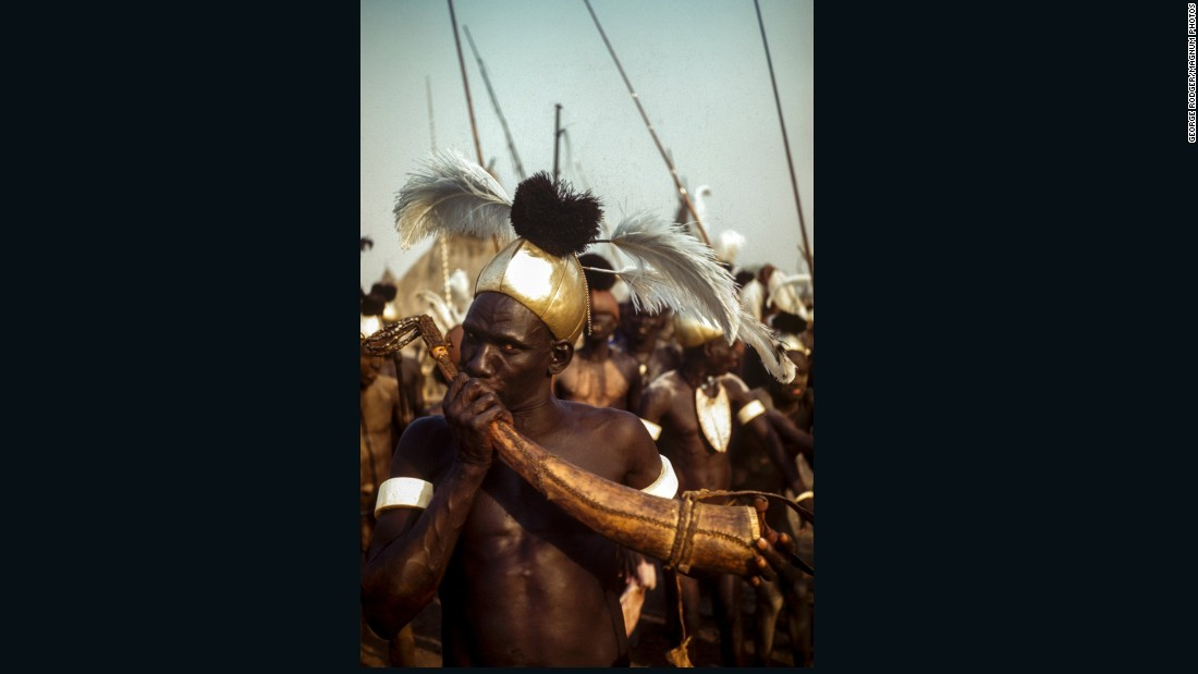 'Lost' early photographs shed light on Sudan's Nuba and Latuka tribes