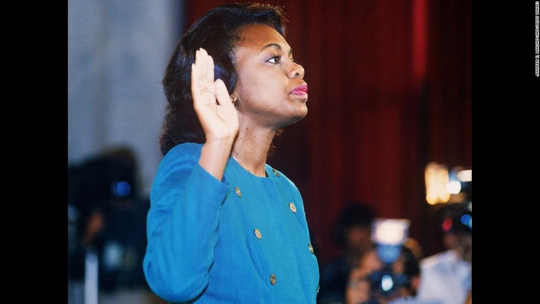 Biden says he owes Anita Hill an apology