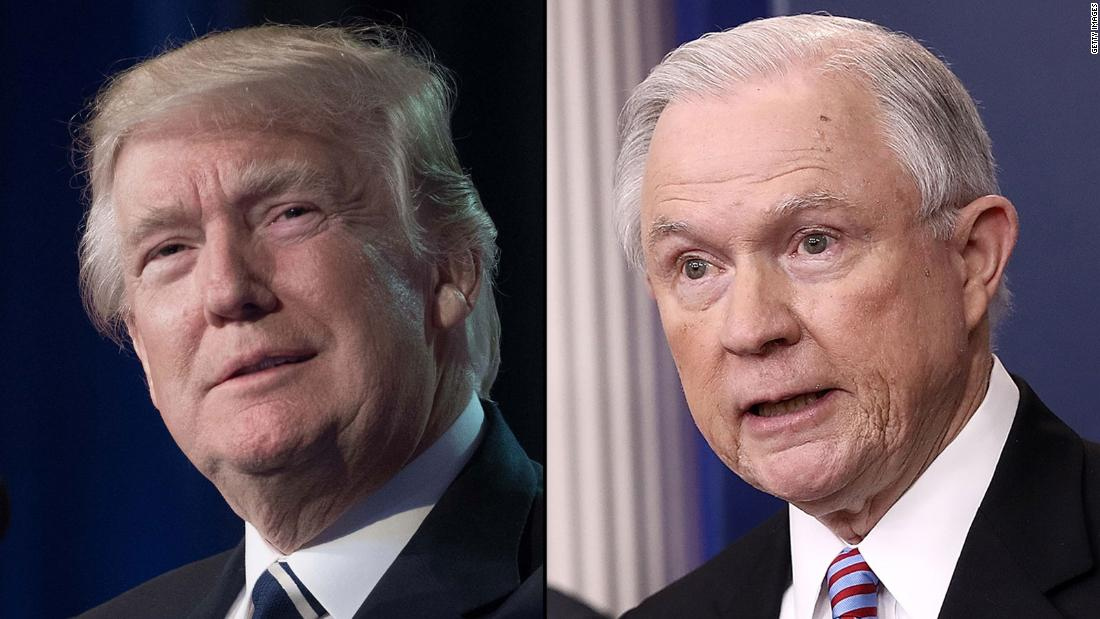 Hear Sessions respond to Trump criticism