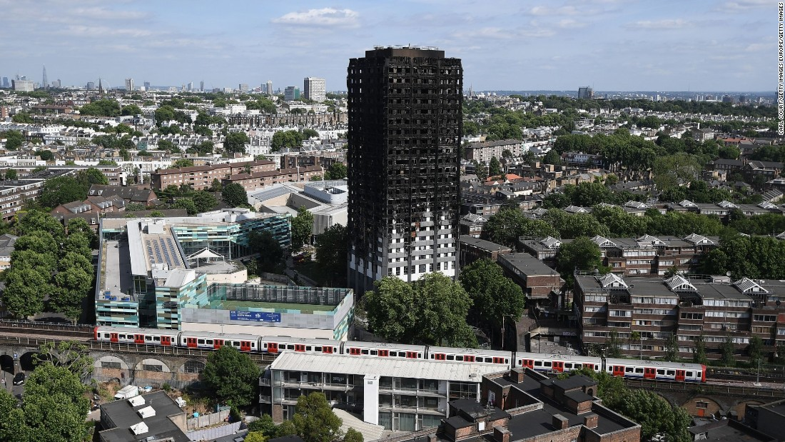 Thieves targeted Grenfell wreck after London fire