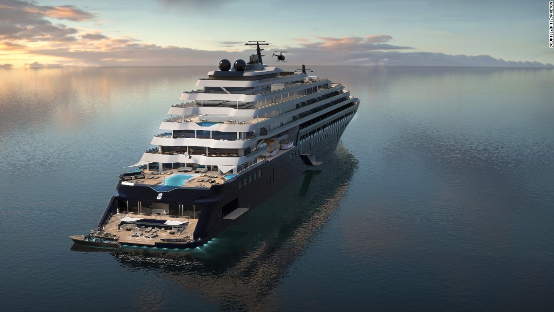 Ritz-Carlton's new yachts will be luxury hotels at sea