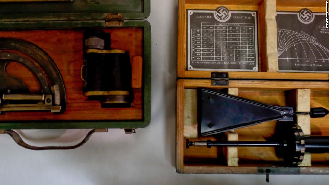 Police find hidden trove of Nazi artifacts