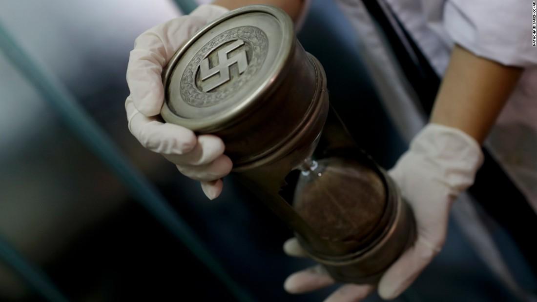 Police find trove of Nazi artifacts behind door