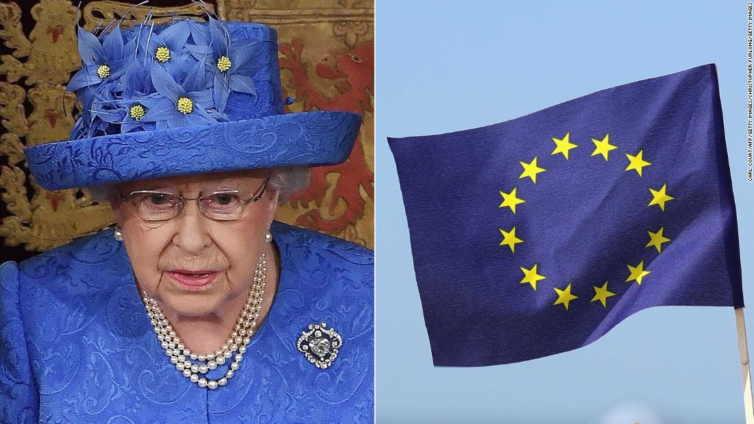 What does the Queen's hat remind you of?