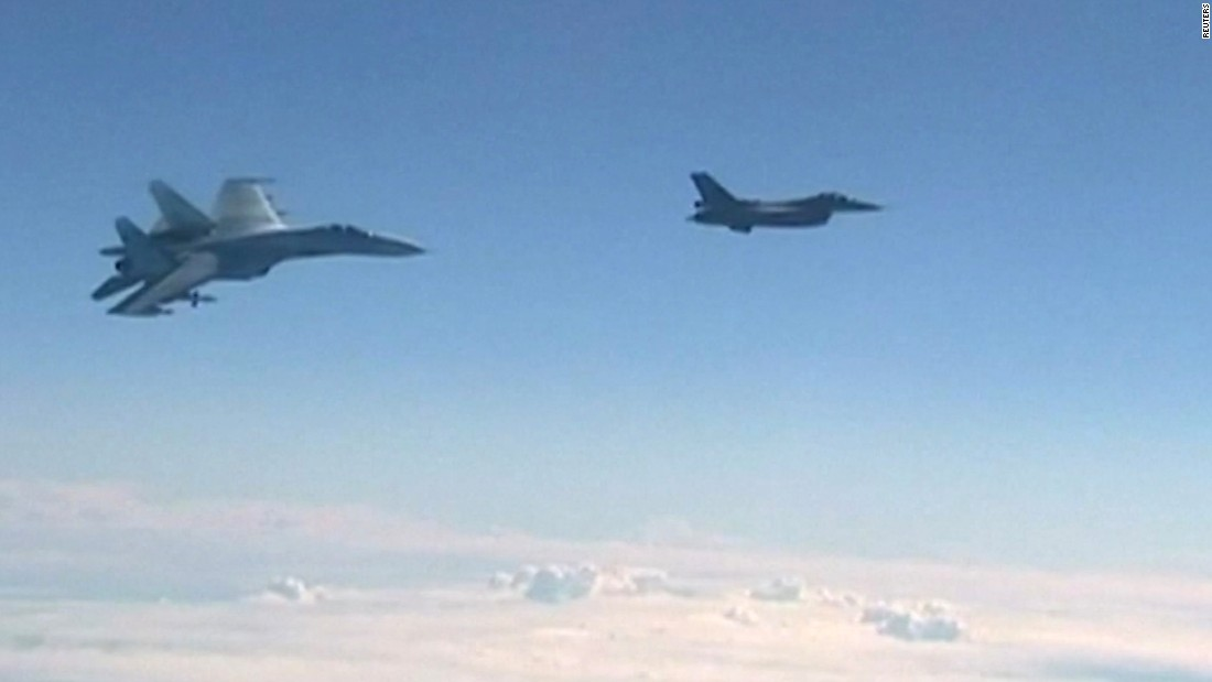 NATO jet intercepts Russian minister's plane