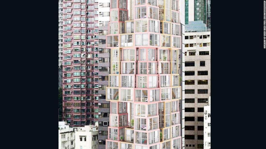 Architects reimagine Hong Kong's high-rise housing