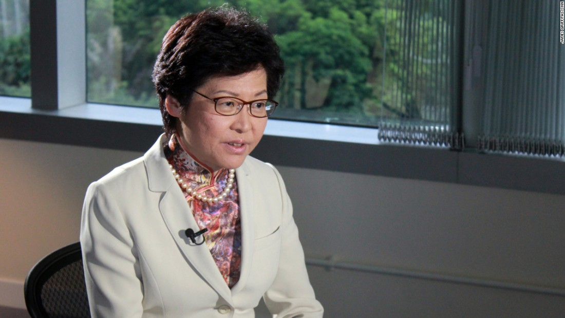Incoming Hong Kong leader on missing booksellers