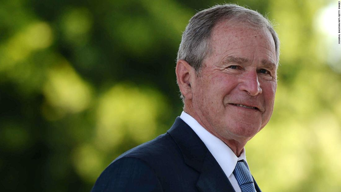 George W. Bush's favorable rating has pulled a complete 180