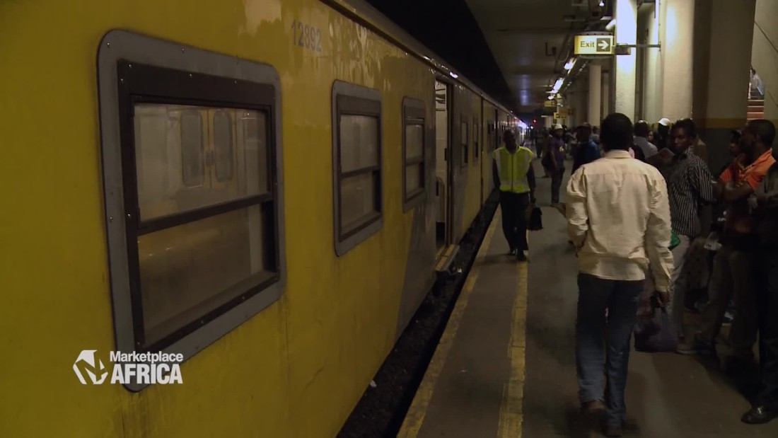 South African trains ride into the digital age