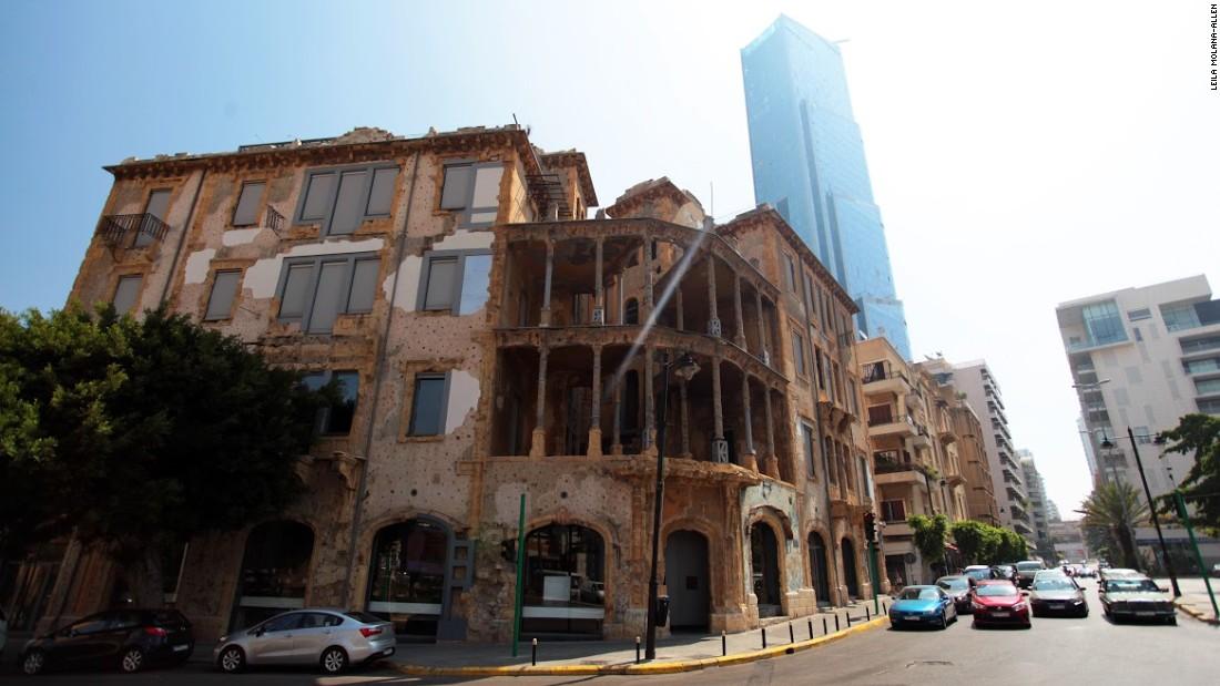 Saving Beirut's crumbling heritage architecture