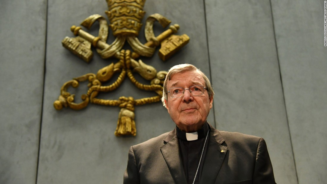 Vatican treasurer faces Australian court