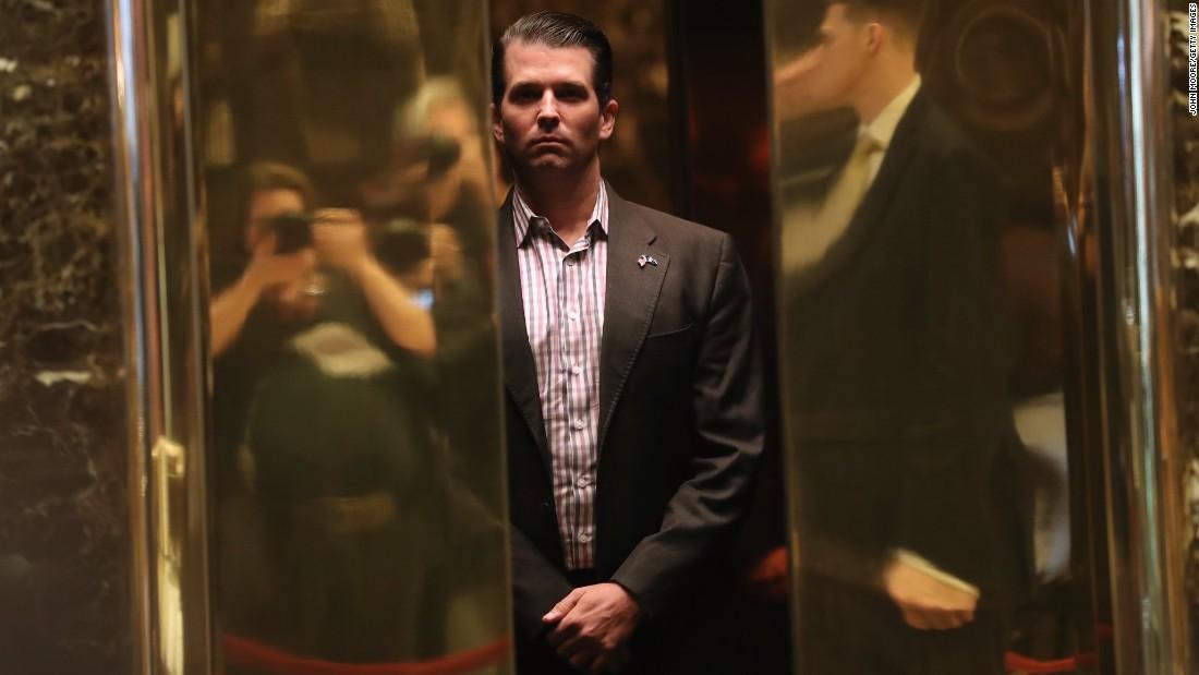 Trump Jr. asks Secret Service to scale back his protection