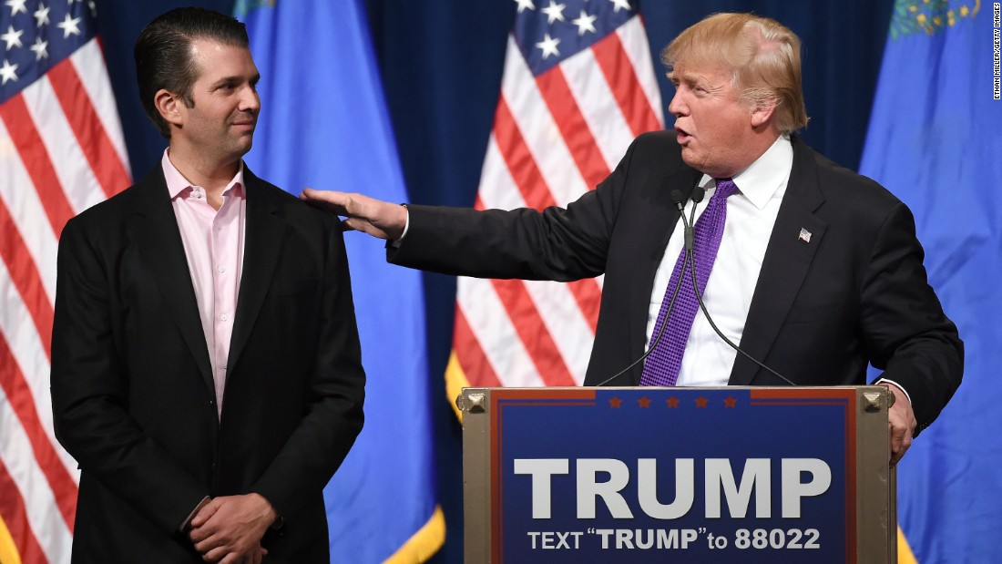 Donald Trump Jr. asks House Intel Committee to investigate leaks