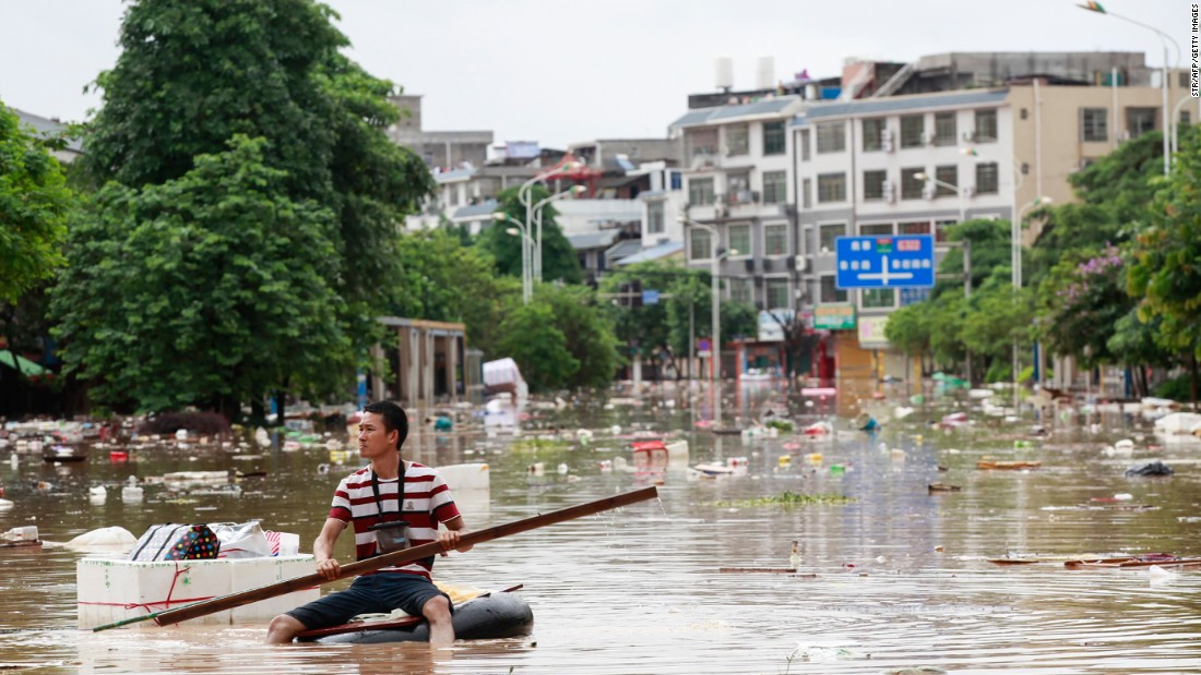 Floods put 137 million people's lives at risk