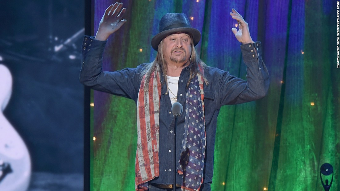 Kid Rock to promote voter registration