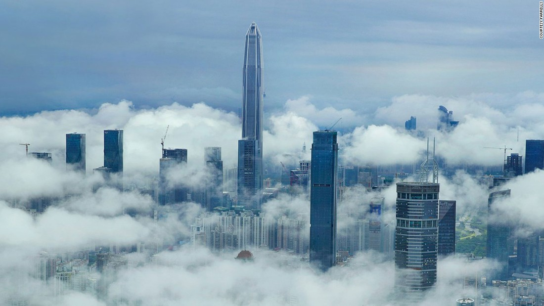 China's 'skyscraper capital'