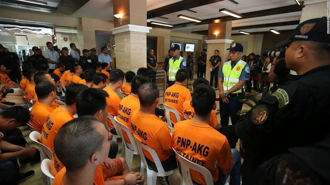 Police nab gang accused of multiple kidnaps at casinos in Manila
