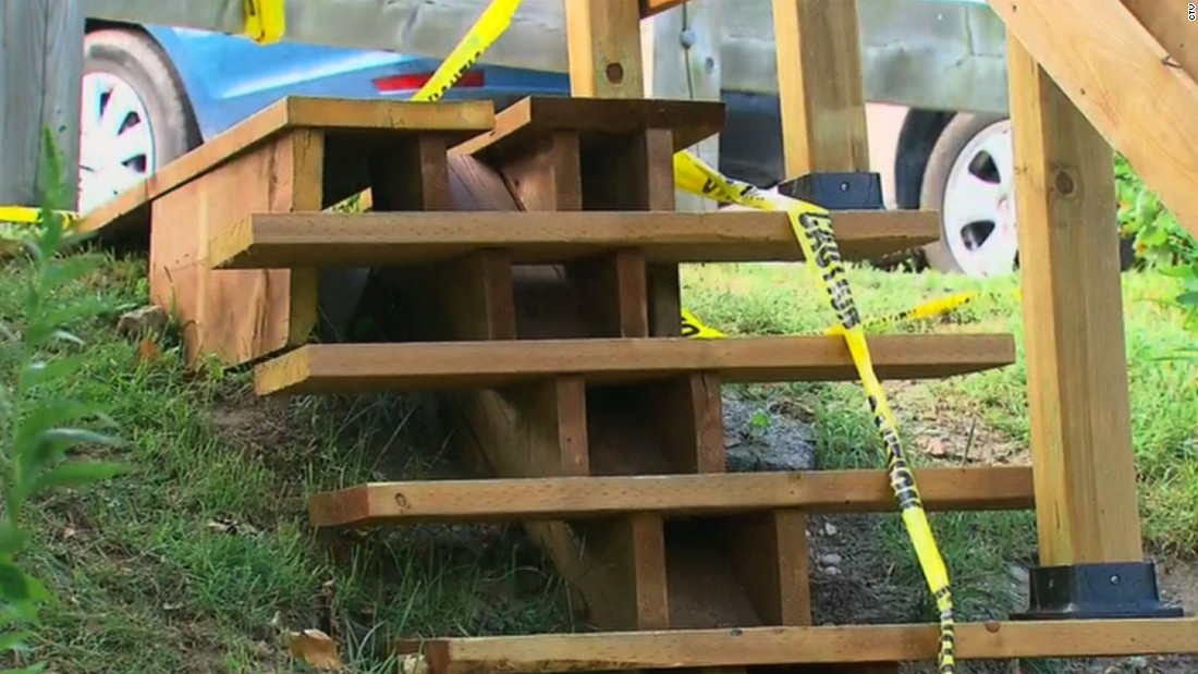 Man builds city steps for $550, gets into hot water