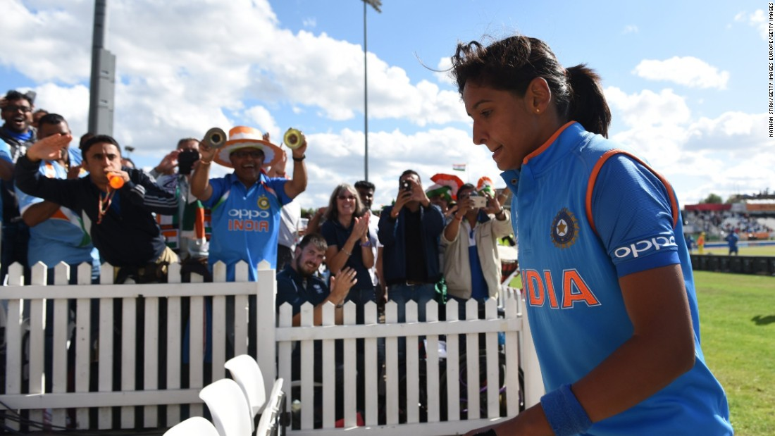 Harmanpreet Kaur: India's new cricket star wants to inspire a generation