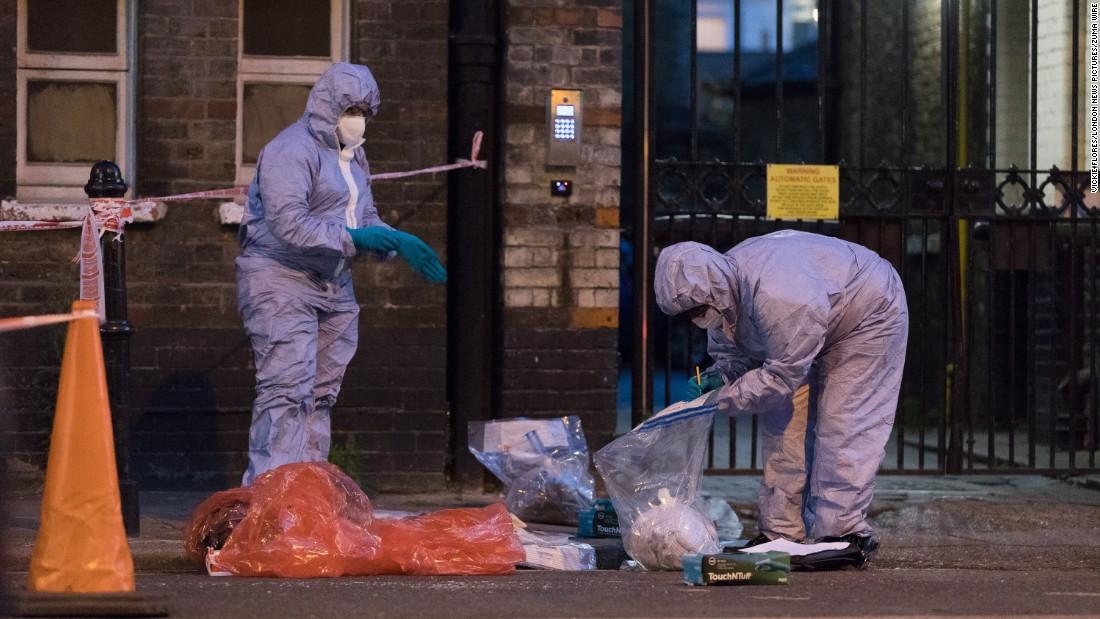 London police investigate suspected acid attacks