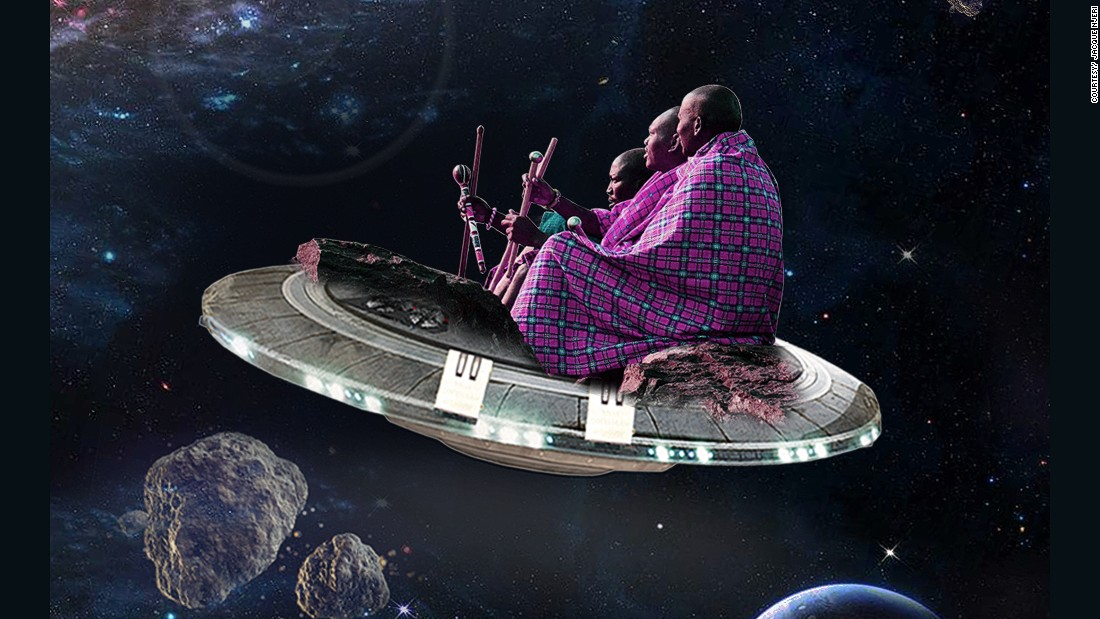 The artist taking the Maasai to space