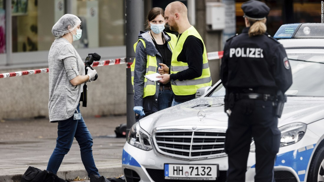 Hamburg knife attack suspect known as Islamist but had no terror links