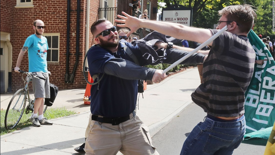 Charlottesville sues to stop private militias at future rallies