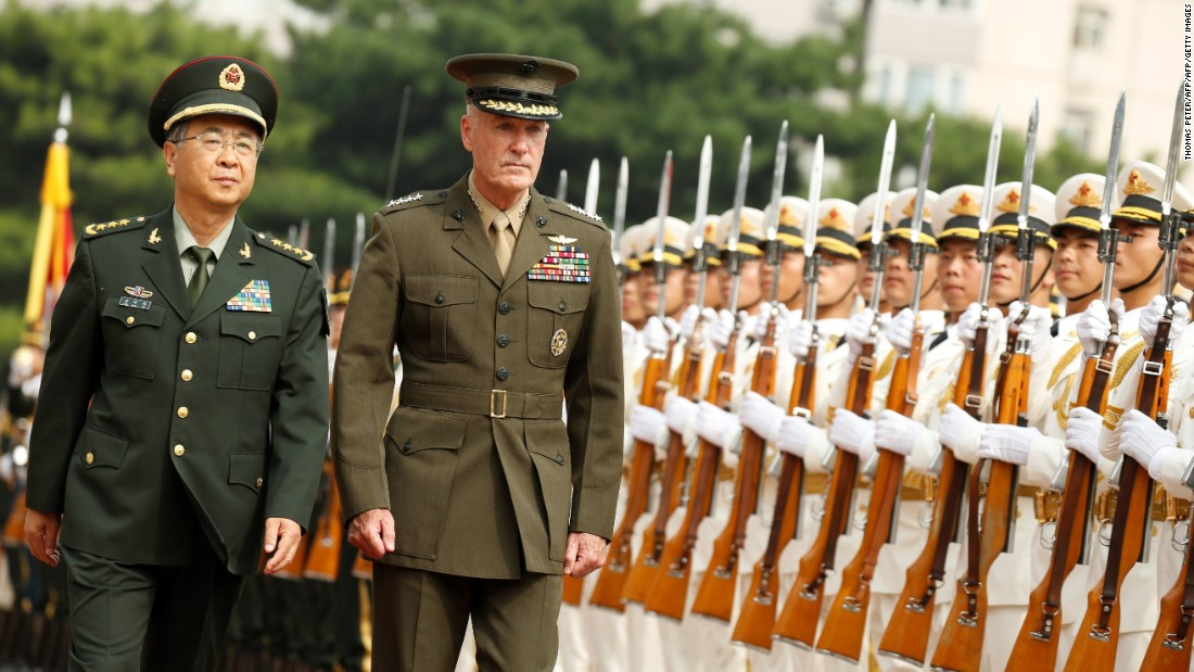 US, China military chiefs reach deal