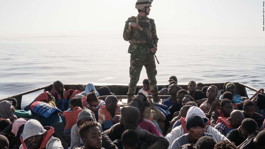 One of Africa's richest trying to stem migrant crisis