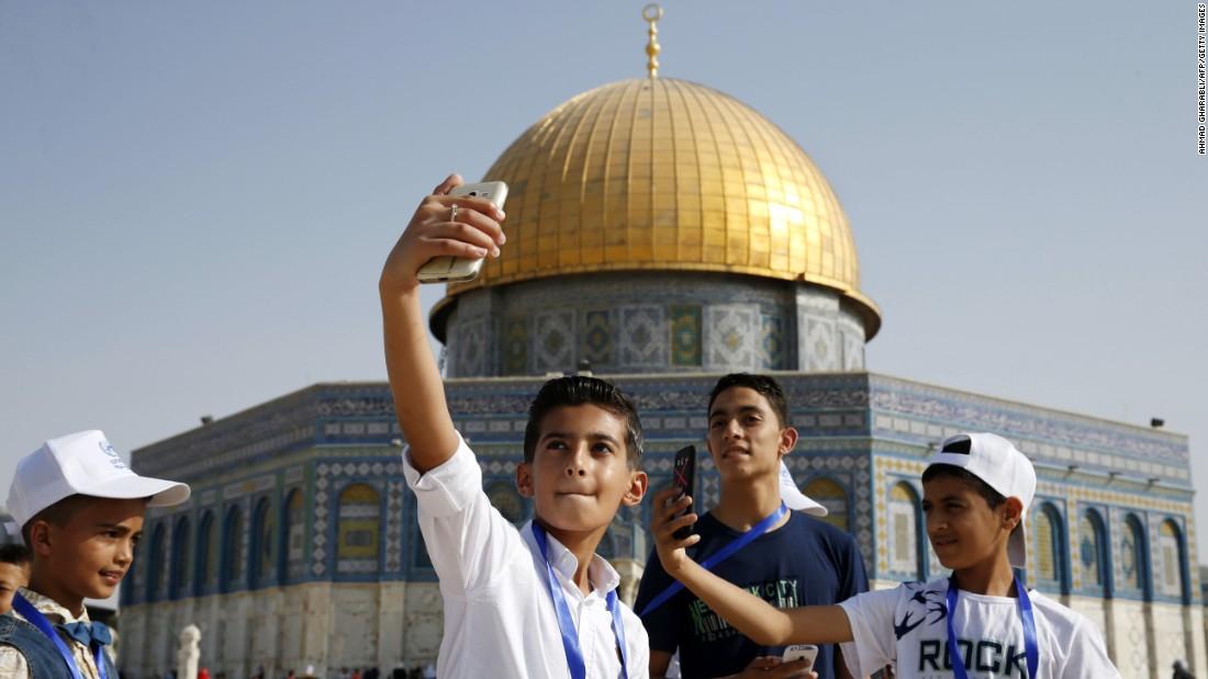 Gaza's children visit Jerusalem for first time