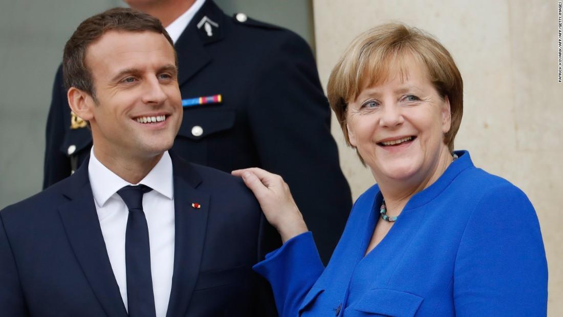 Macron, Trump and Putin would all like to see Merkel go