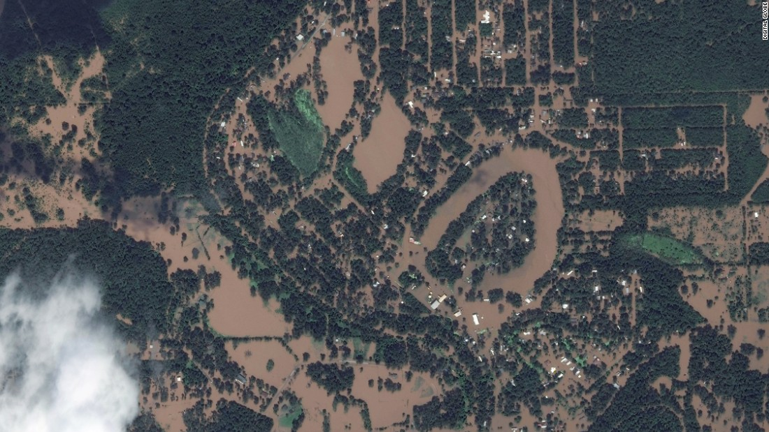 Satellite Images Show Harveys Impact On Texas Towns Wivbcom - Satellite map of texas