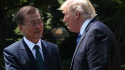South Korea says Moon, Trump plan stronger North Korea sanctions