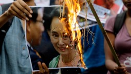 Suu Kyi is neglecting her moral responsibility