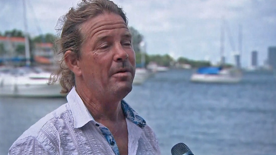 Miami man says he'll ride out Irma in his boat