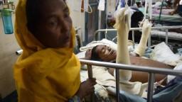 Bangladesh hospital at breaking point taking Rohingya victims