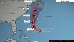 Tropical Storm Jose may threaten US next week