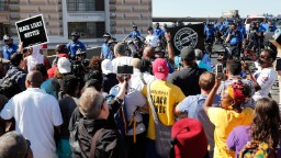 13 protesters arrested after ex-cop found not guilty in black man's death