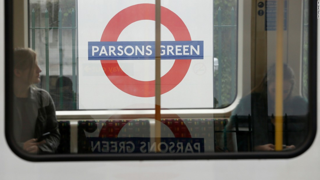 Teenager charged with London Tube attack