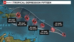 Tropical Storm Lee, tropical depression form