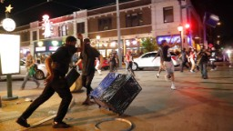 US city sees second night of protests