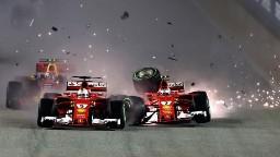 F1: Hamilton extends lead in rain-hit GP