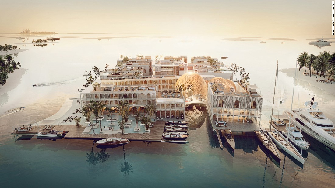 Dubai plans floating replica of Venice with underwater deck