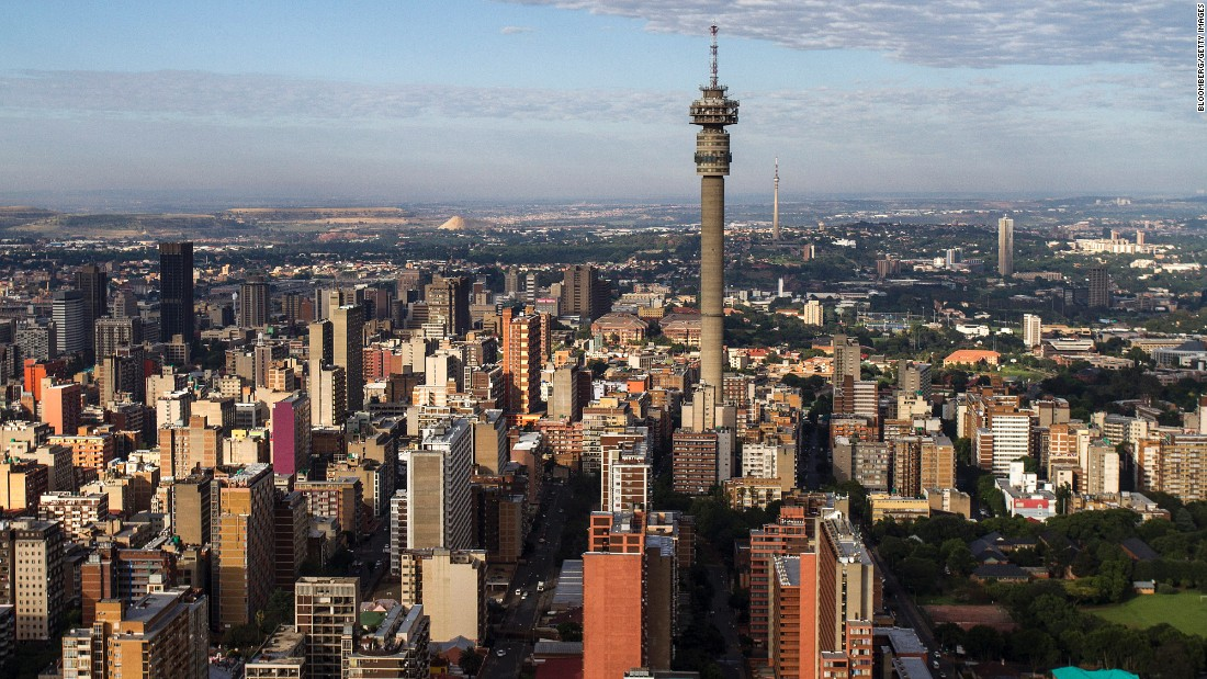 Johannesburg gaining on Cape Town