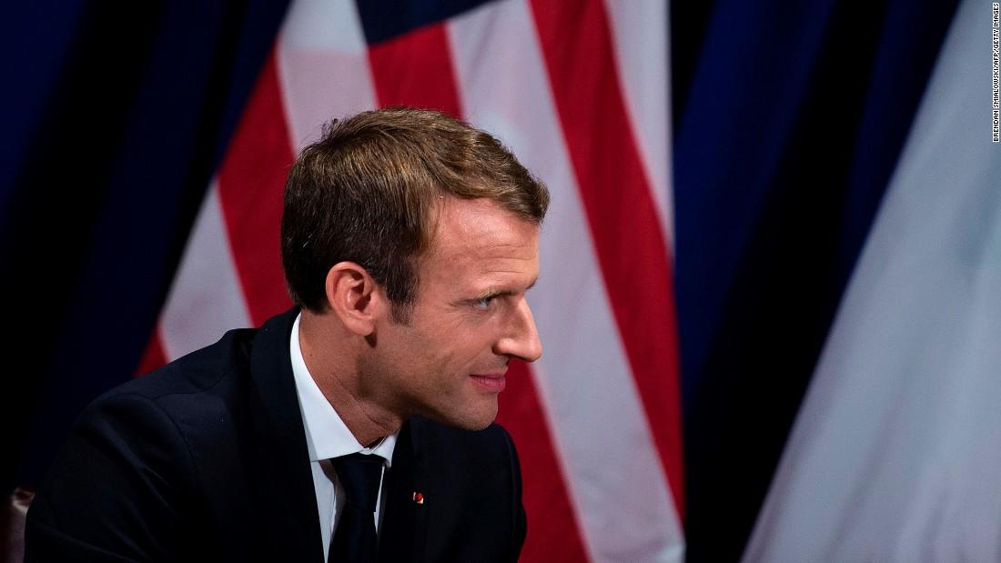 Macron calls on Trump to honor Iran deal