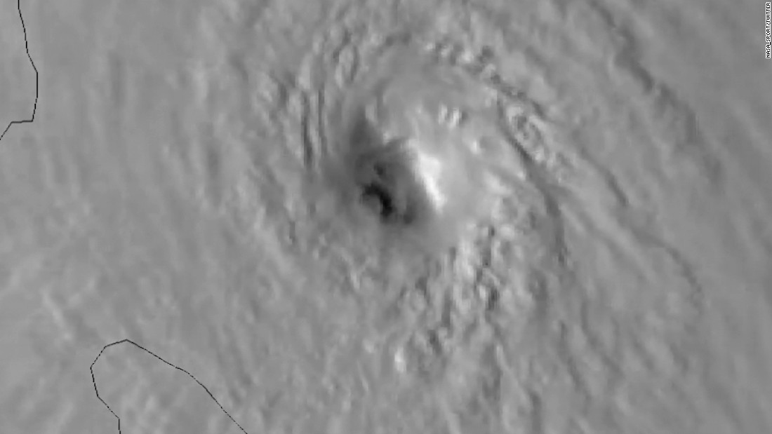 See Maria intensify from space